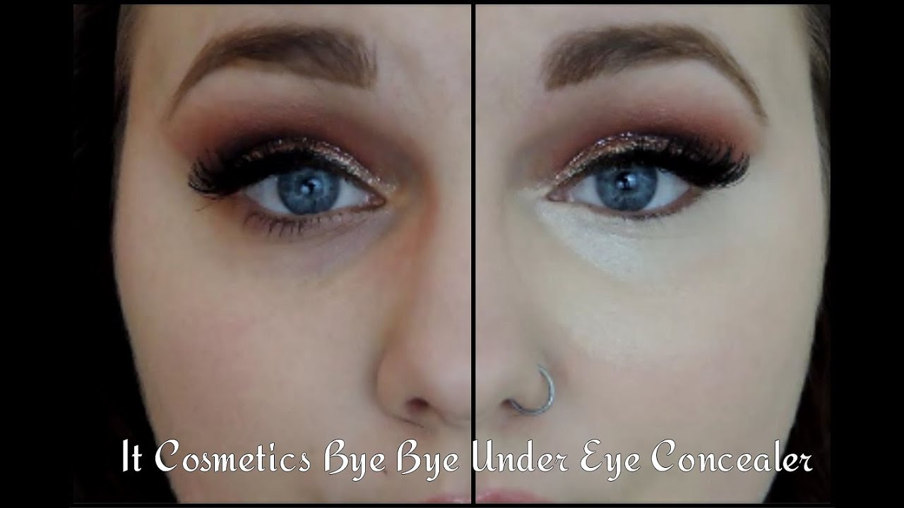 BEST CONCEALER! | IT Cosmetics Bye Bye Under Eye Concealer - YouTube