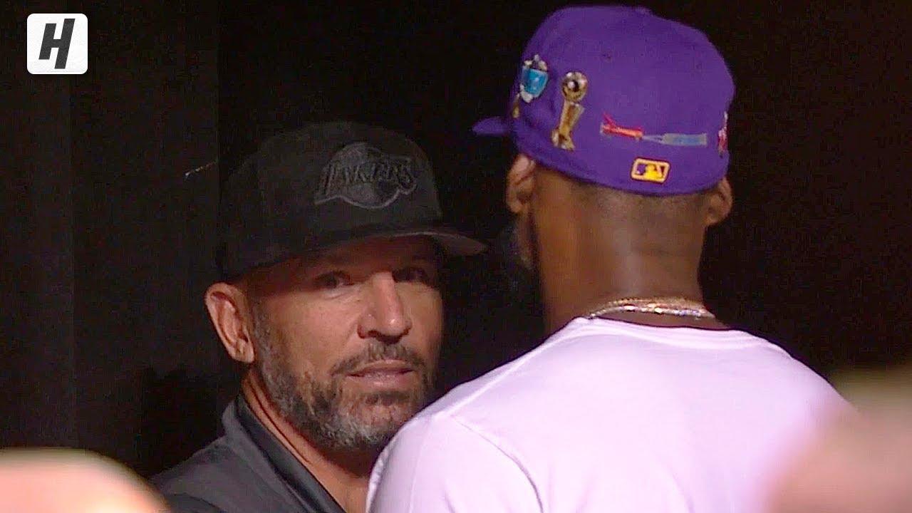 LeBron James \u0026 Jason Kidd Arrived at
