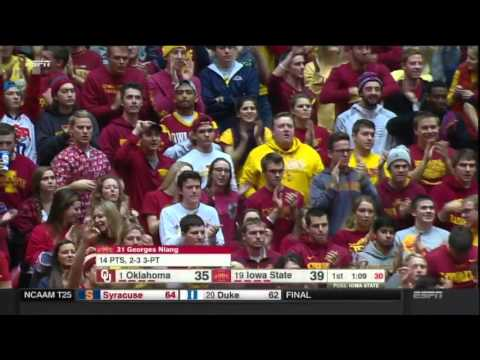 Oklahoma vs. Iowa State Men