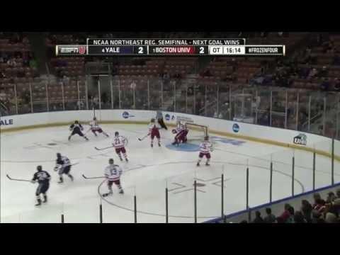 2015 NCAA Northeast Regional: BU vs. Yale Highlights