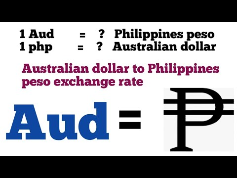 Australian Dollar To Philippines Peso Exchange Rate Today | Aud To Php | Aud To Php | 1 Aud To Php