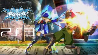BlazBlue Calamity Trigger playthrough (PS3)