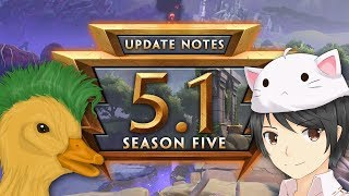 SMITE - 5.1 Update Discussion (w/ MythyMoo & Punk Duck)