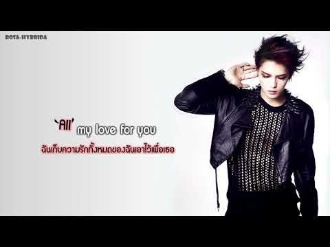 [Karaoke] ★ Jaejoong - All Alone (Thai Lyric & Trans)