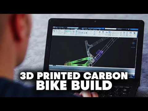 Carbon Fiber Bike Built With 3D Printer - Fettlers - Chapter 2