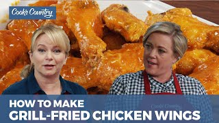 How to Make Crispy Grill Fried Chicken Wings