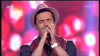 The Voice Of Greece (Live) / Αλεξ Οικονομου - Κρυφα  28-03-2014