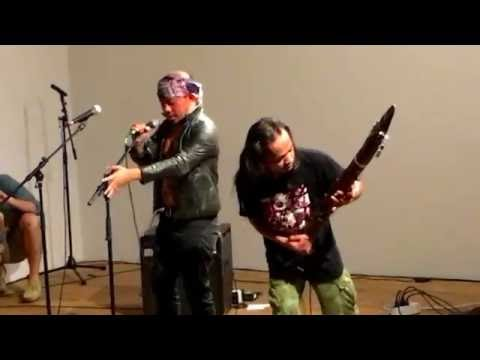 Senyawa Live at Bridget Donahue Gallery in NY 8/10/2016