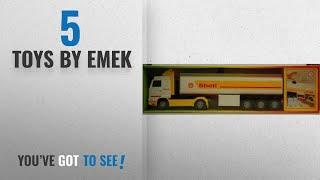 Download Top 10 Emek Toys [2018]: Emek Scania Shell Streamline Tanker