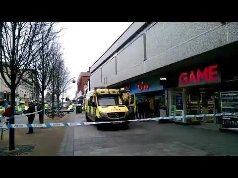 MAJOR POLICE INCIDENT AT TRAVEL AGENT IN SOUTHPORT