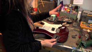How to Install a Floyd Rose Fender Strat