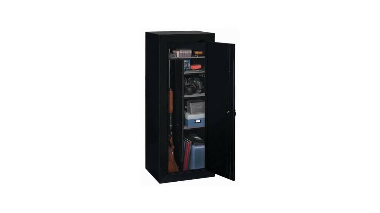 Stack-On Convertible 18-Gun Cabinet Features Video - YouTube
