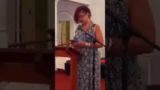 Sharnelle's poetry debut at Kairo's Café