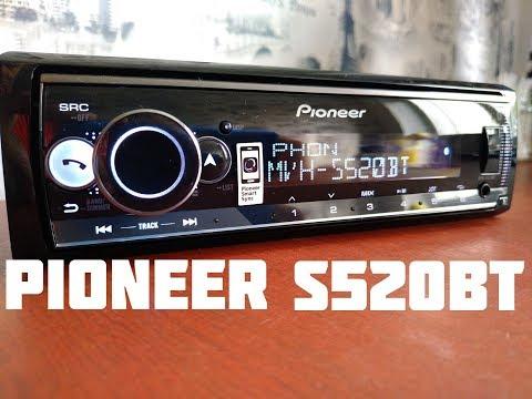 Обзор Pioneer MVH S520BT /сравнение с S510BT/