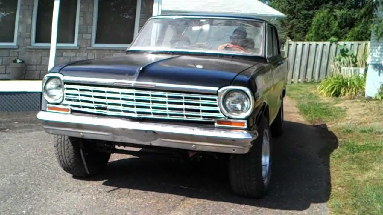 All Chevy 64 chevy ii : 64 Chevy II Nova 4 Door - YouTube