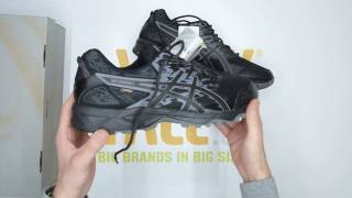 ASICS Gel-Sonoma 3 GORE-TEX - Black - Unboxing | Walktall