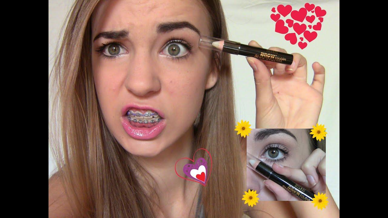 First Impression Milani Brow Wax Pencil Youtube
