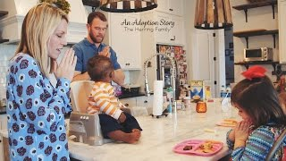 an adoption story the herring family