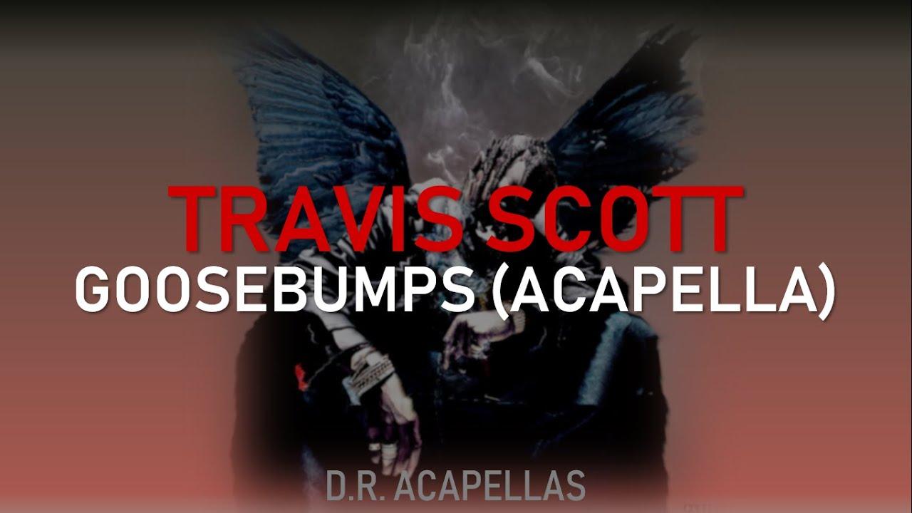 Travis Scott - Goosebumps (Acapella - Vocals Only)