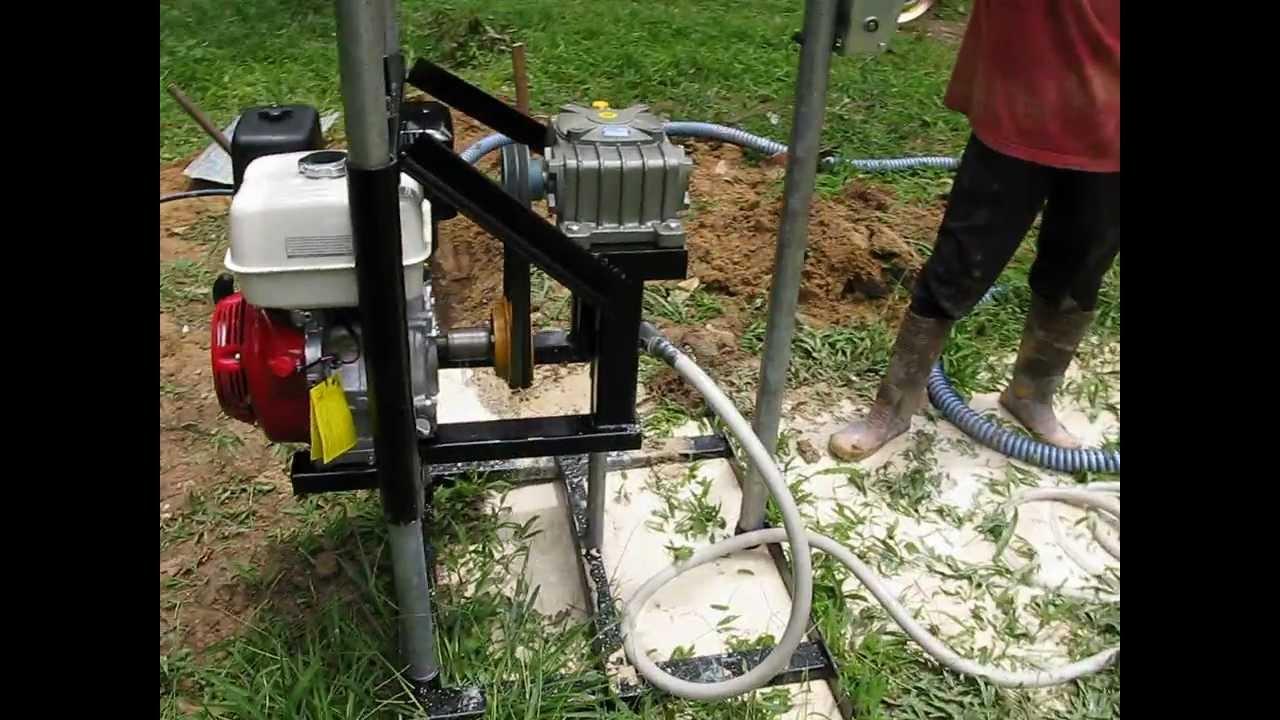 Mesin Gerudi Air Bawah Tanah Part8