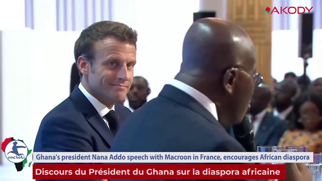Le Président du Ghana Nana Akufo-Addo invite toute la diaspora africaine à investir sur le continent