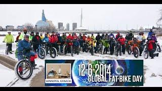 2014 Global Fat Bike Day In Winnipeg, Canada