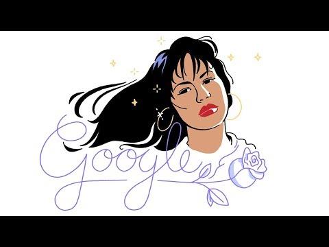 google homenajea a la texana selena quintanilla con un doodle