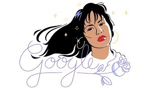 Celebrating Selena Quintanilla by : googledoodles