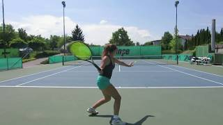 (Commited) Anika Tylek, Class of 2018, Div. 1 Tennis Recruiting Video
