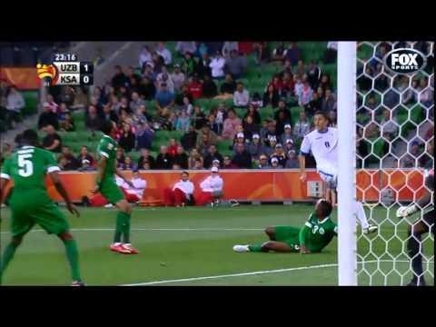 AFC ASIAN CUP 2015   Uzbekistan 3 V 1 Saudi Arabia   Highlights