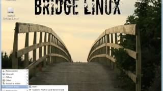 Bridge Linux 2012.12 Lxde Presentation