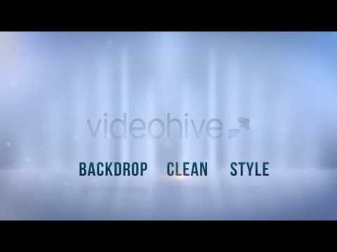 Clean Corporate Backdrops (6-Pack) !