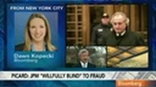 Madoff Trustee Sues JPMorgan, Claims Bank Aided Fraud