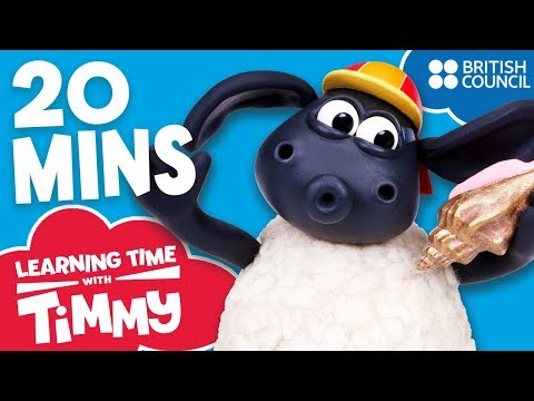 Full Episodes Compilation 5-8 | Learning Time with Timmy | Learn Words for Toddlers letöltés