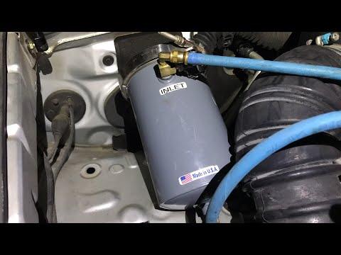 Installing The PetroSavers Engine Oil Refiner Onto A 2003 Toyota 4Runner V6 2WD