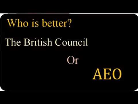 Difference between AEO and The British Council Pakistan