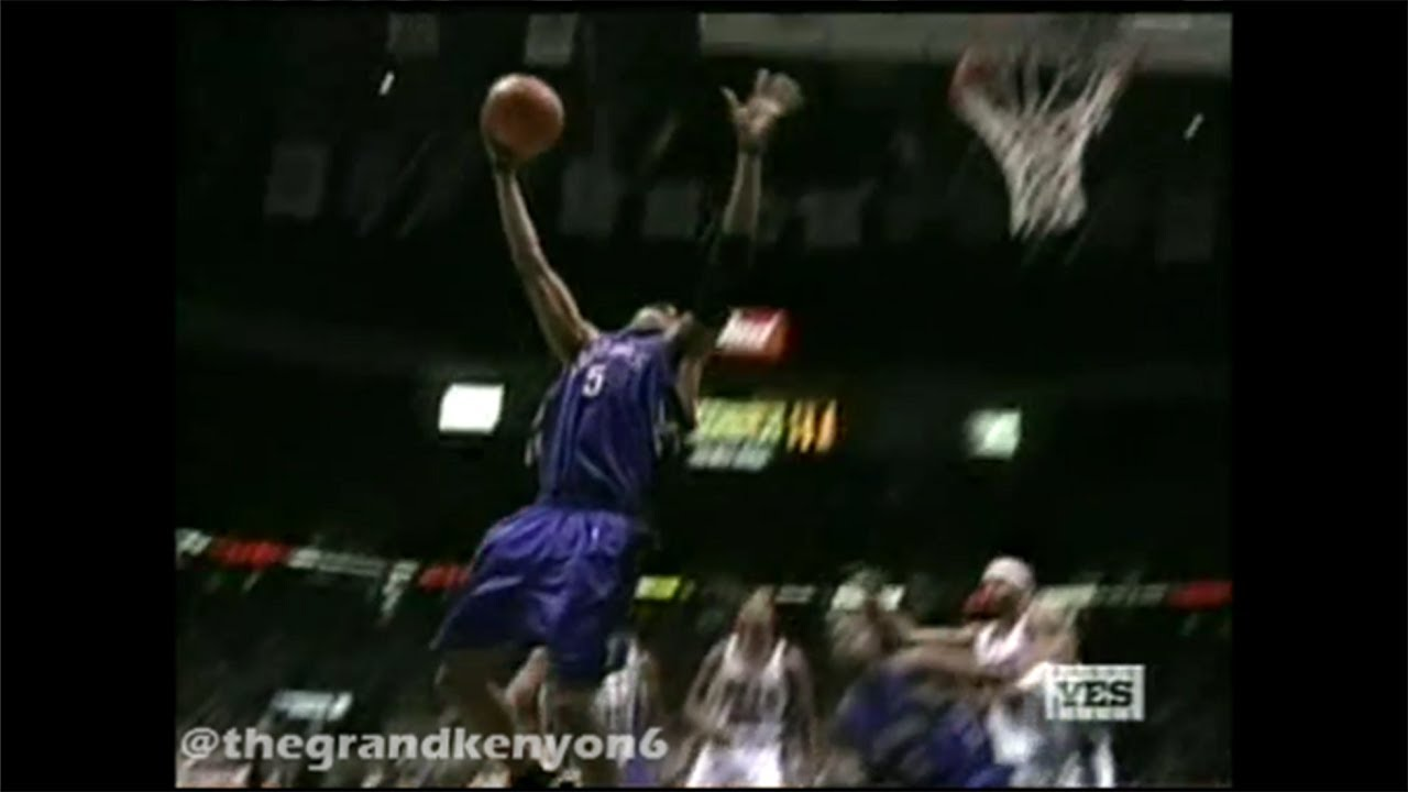 eb14ebafc Vince Carter 2 highlight-reel stuffs vs. New Jersey Nets - YouTube