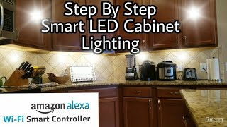 How To Install Smart LED Under Cabinet Lights TorchStar