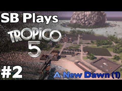 A New Heir (Mission 1, Part 2) - SB Plays Tropico 5 ep2