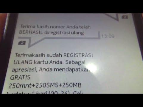 RAHASIA KONTER 6 l Cara Registrasi Kartu Dapat Bonus Kuota Internet Gratis