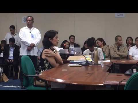 Commission on Appointments Hearing on Gina Lopez March 9 201