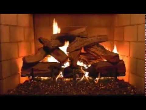 Ecran d co feu de chemin e extrait vid o youtube - Image de feu de cheminee ...