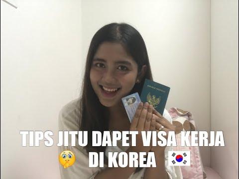 VLOG ZARA #018 TIPS SUKSES DAPET VISA KERJA DI KOREA DAN RESIDENT VISA HUNTER