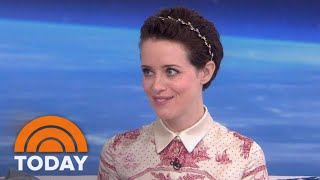 'First Man' Star Claire Foy On Portraying Neil Armstrong's Wife   TODAY