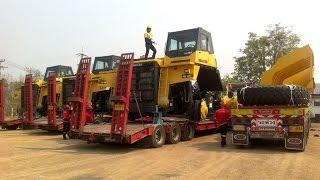 ขนส่ง Dump Truck Komatsu hd785 เหมืองแม่เมาะ ลำปาง