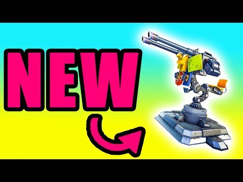 NEW Mounted Turret! Re-Deploy Gone & Food Fight LTM ⚠️ Fortnite Battle Royale Live Gameplay