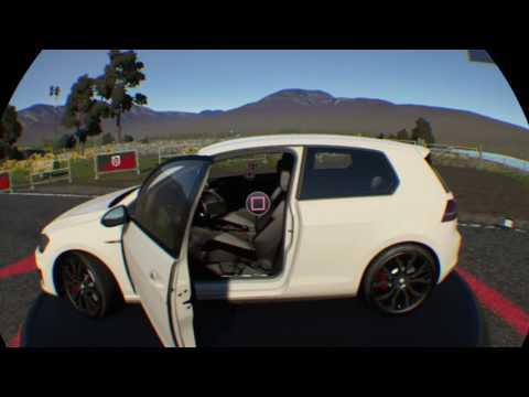 Volkswagen Golf GTI VR OnBoard Realidad Virtual Driveclub VR