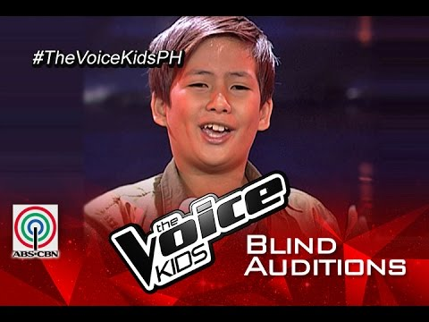 """The Voice Kids Philippines 2015 Blind Audition: """"Just Give Me A Reason"""" by Noah"""