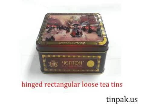 Tinpak.us offers the best tea tin containers