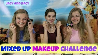 Mixed Up Makeup Challenge 2 ~ Jacy and Kacy